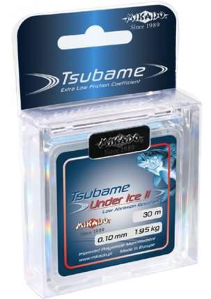 Леска монофильная Mikado Tsubame Under Ice 30 м голубая 0,08 мм