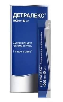 Детралекс суспензия для пр.внутрь 1000 мг/10 мл саше 30 шт.