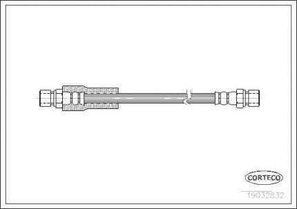 Шланг тормозной CORTECO 19032832