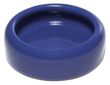 Одинарная миска для грызунов Triol, керамика, синий, 0.03 л