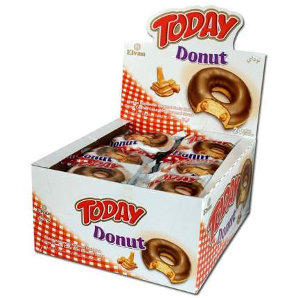 Пончики Today donut карамель