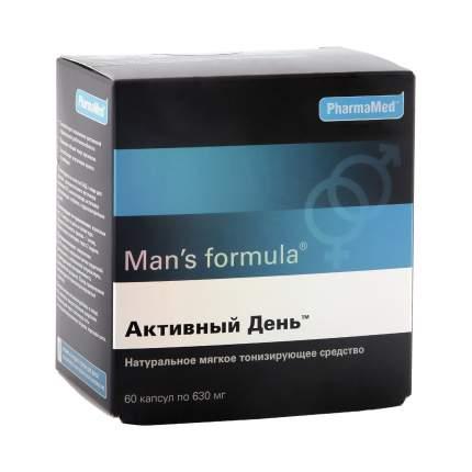 Man's formula PharmaMed активный день 60 капсул