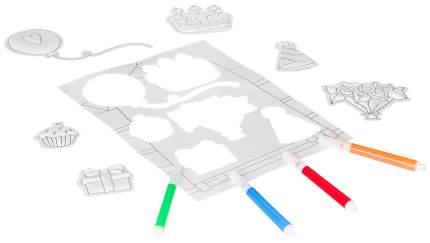 3D-наклейки Bondibon День рождения