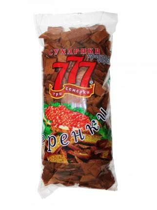 Сухарики-гренки Три Семерки ржано-пшеничные со вкусом красной икры 500 г