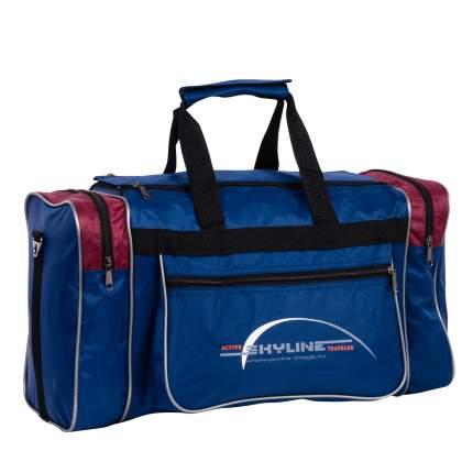 Спортивная сумка Polar Джонсон Нейлон 6009с синяя/красная