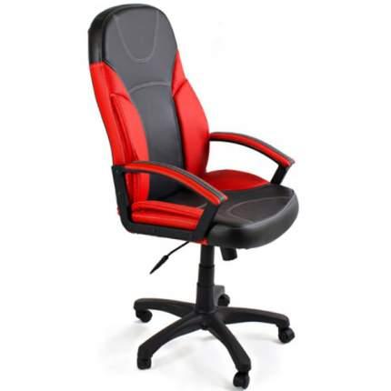 Офисное кресло TetChair Twister, черный/красный