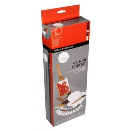 Масляные краски Daler Rowney Mini Easel Simply 12 цветов