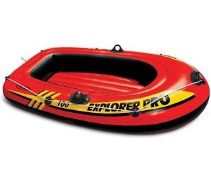 Лодка Intex Explorer Pro 100 1,6 x 0,94 м orange