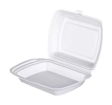 Набор одноразовой посуды Horeca Select Ланч-бокс односекционный одноразовый 50 шт