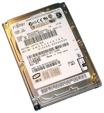 Внутренний жесткий диск Fujitsu 100GB (MHV2100AH)