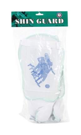 Футбольные щитки Gratwest белый/голубой Т4737-1