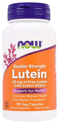 Для зрения NOW Lutein Double Strength 20 мг 90 капсул