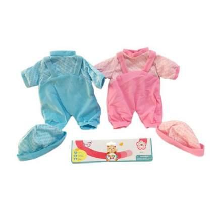 НАША ИГРУШКА Комплект одежды для куклы Малютка, 39-45 см 1805
