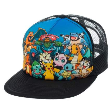 Бейсболка Bioworld Pokemon Characters Snapback