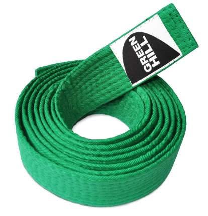 Пояс для карате Green Hill KBO-1014, 5/280, зеленый
