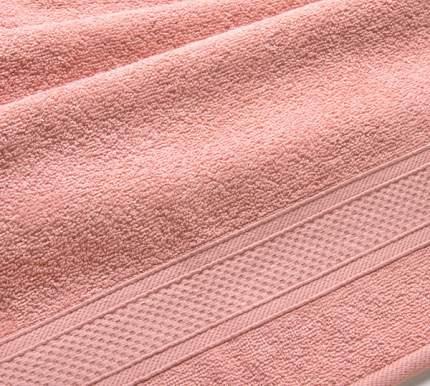 Полотенце махровое с бордюром (кремовое) 40х70