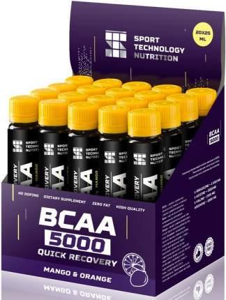 НПО Спортивные Технологии BCAA 5000 1 ампула 25 мл манго/апельсин