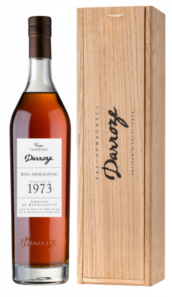 Арманьяк Armagnac Darroze Unique Collection in wooden giftbox, 1973 г.