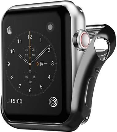 Чехол InterStep для Apple Watch 44mm Black (HWE-AWC44MSL-NP0001O-K100)
