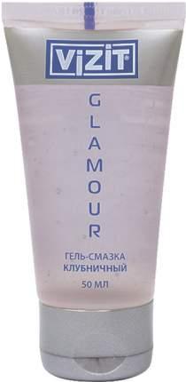 Гель-смазкаVizit Glamour клубничный50мл