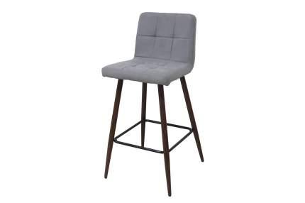 Полубарный стул Hoff Francis, под дерево/черный/серый