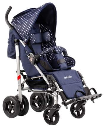 Кресло-коляска Meyra Umbrella new для детей ДЦП белый горох-синий пневматические