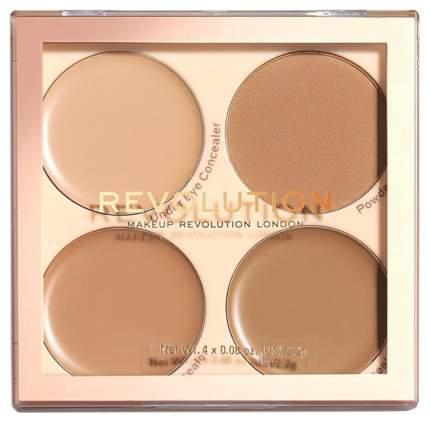 Консилер Revolution Makeup Revolution Matte Base Concealer Kit C9-12