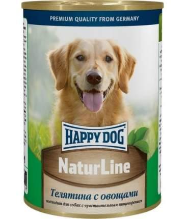 Консервы для собак Happy Dog NaturLine, телятина, 400г