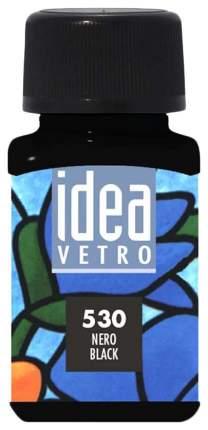 Акриловая краска Maimeri Idea Vetro По стеклу черный M5314530 60 мл