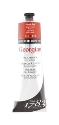 Масляная краска Daler Rowney Georgian ярко-красный 75 мл
