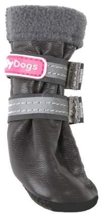 Сапоги для собак FOR MY DOGS, зимние, серые, FMD631-2018 Grey 3