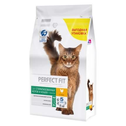 Сухой корм для кошек Perfect Fit Sterile, для стерилизованных, курица, 6шт по 1,2кг