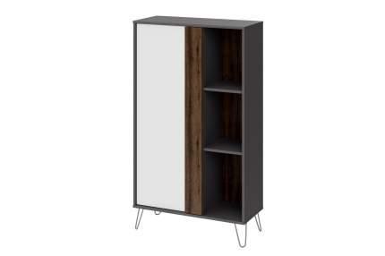 Платяной шкаф Hoff 80323959 79х34,4х138,4, белый/серый