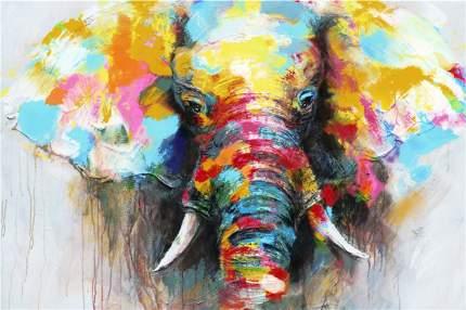 Репродукция 90х60 см Hoff Слон