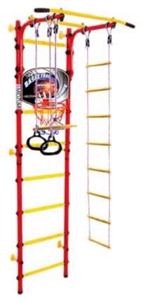 Детский спортивный комплекс Midzumi Banji Kabe Basketball Shield (цвет каркаса: красный)