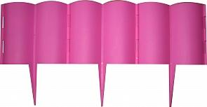 """Декоративные ограждения """"Каскад""""розовый,3м"""