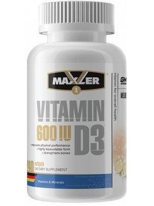 Maxler Vitamin D3 (240 капс)