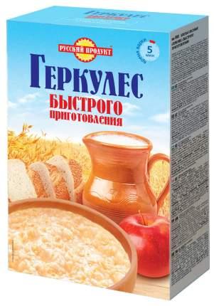 Овсяные хлопья Русский продукт геркулес быстрого приготовления 350 г