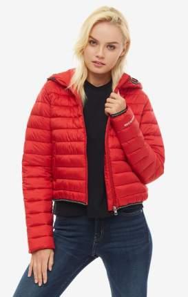 Куртка женская Calvin Klein Jeans J20J2.11730.6880 красная/черная/белая XS