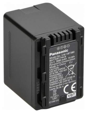 Аккумулятор для видеокамеры Panasonic VW-VBT380E-K