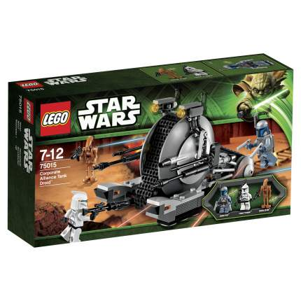 Конструктор LEGO Star Wars Дроид-танк Альянса (Corporate Alliance T (75015)