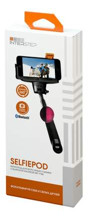 Монопод для смартфона interstep IS-HD-MPSP110RD-BT0B201