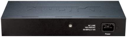 Коммутатор D-Link EasySmart DES-1100-24 Серый, черный