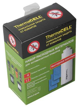 ThermaCell Набор запасной ThermaCell R-4 4RUS газовых картриджа + 12 пластин на 48 часов
