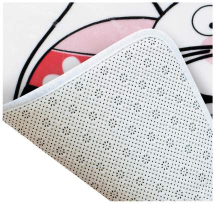 Коврик для ванной Tatkraft Funny Cats 14930 Белый с рисунком