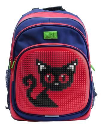 Рюкзак 4All Kids Черная Кошка сине-красный