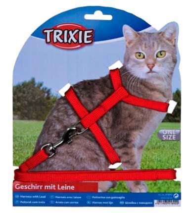 Trixie Шлейка для кошки с поводком нейлон