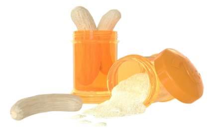 Контейнер с крышкой для хранения продуктов Twistshake Оранжевый 2 шт. 100 мл