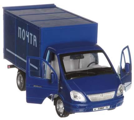 Инерционная модель машины 1 TOY Газель фургон Почта