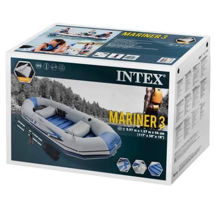 Лодка Intex Mariner 3 2,97 x 1,27 м grey